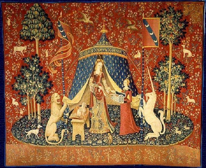Los tapices de La Dama y el Unicornio, Cluny -heroico- Ladyan10