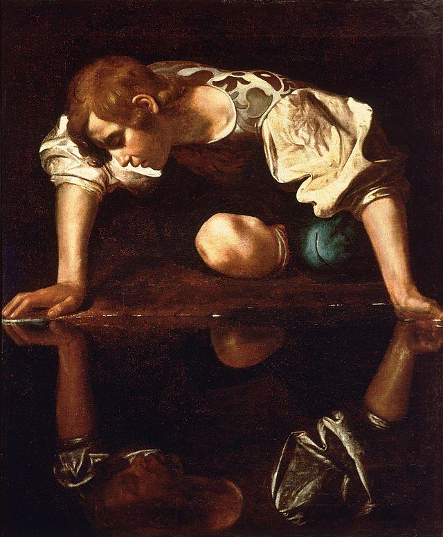 Narciso, de Caravaggio -soneto en gaita gallega- Narcis10