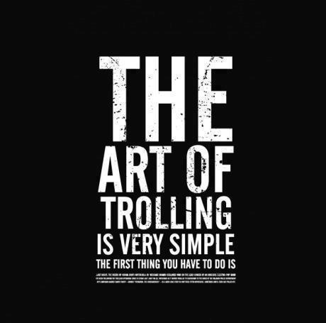 The art of Trolling 31424910