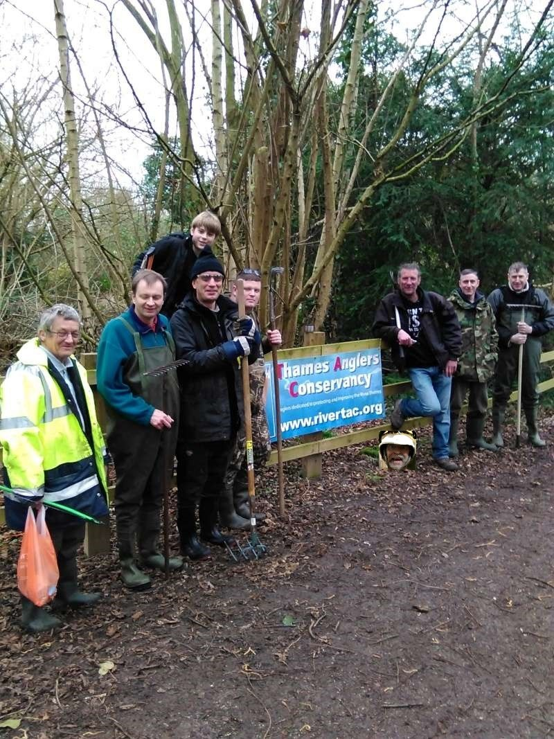 Penton Hook Clean up 28th Feb 2015 *Thank You* Tidy_u10