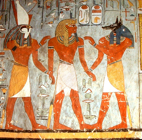 Egipto INFUENCIA EXTATERRESTRE Anubis10