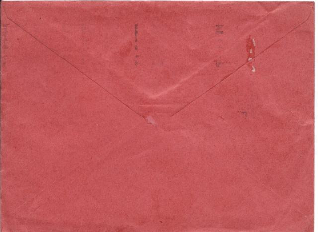 Tarif des lettres pendant la Deuxième Guerre mondiale Verso10