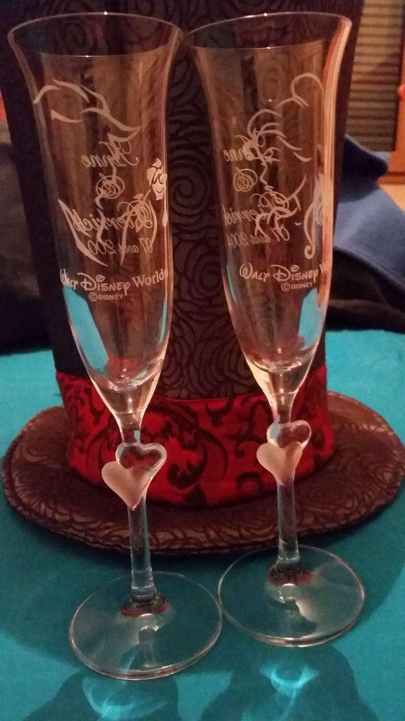 Flute à Champagne Disney 20150113