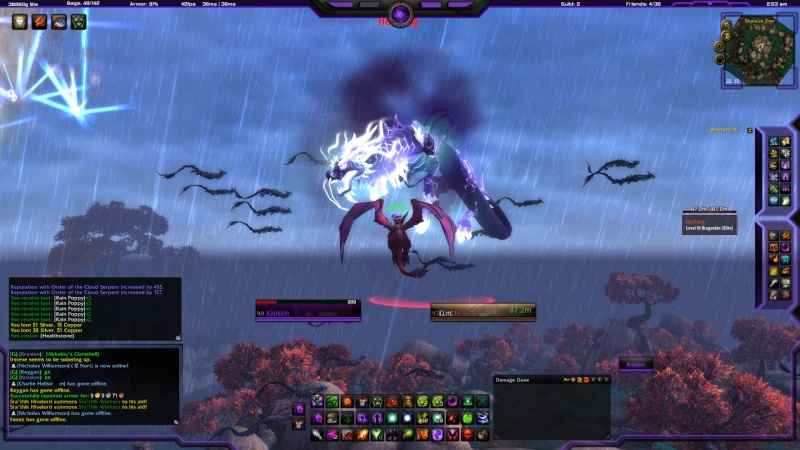 Sexiest mount in game from Sha of Anger Wowscr10