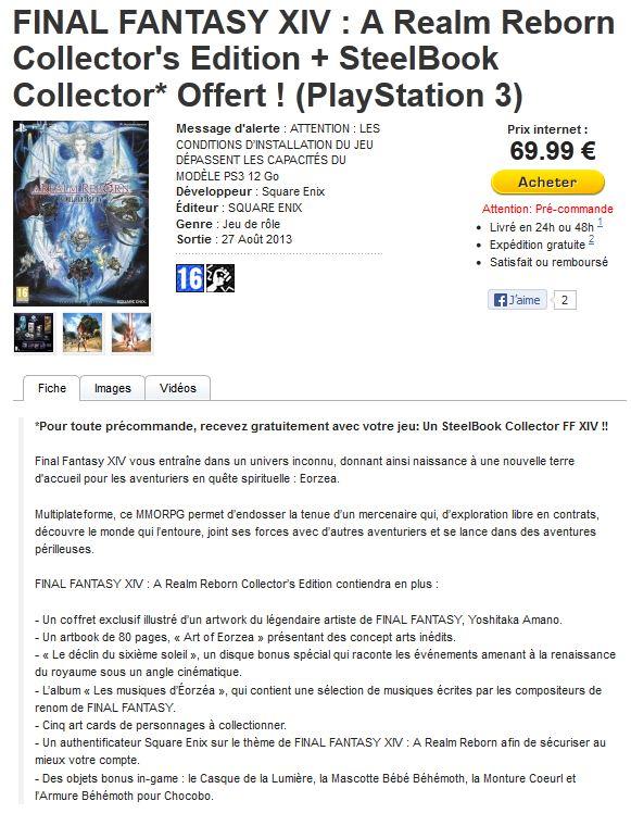 Final Fantasy XIV : A Realm Reborn. ( Le topic officiel ? ) - Page 2 Captur12
