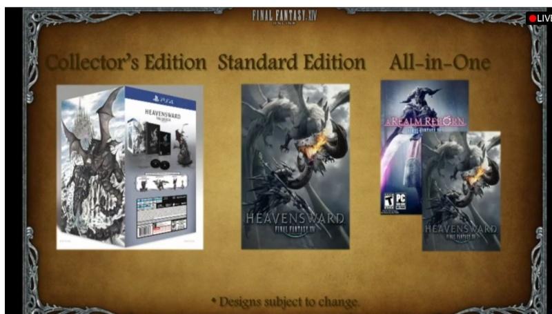 FF XIV Heavensward édition collector Captur19