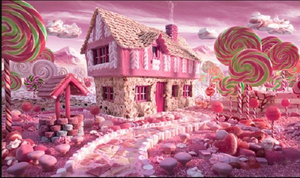 Puzzle #23 - Au pays des bonbons Pays12