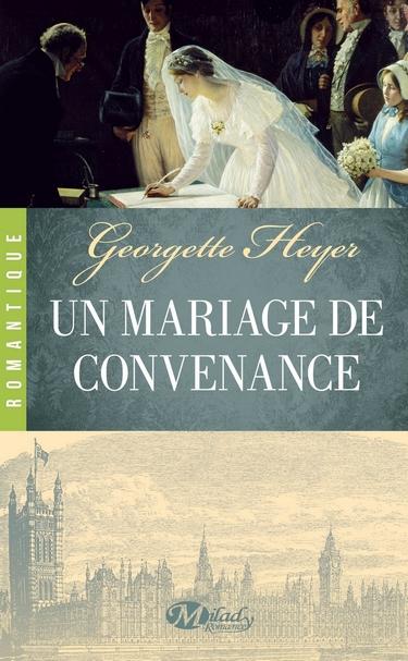 Un mariage de convenance de Georgette Heyer Mariag10