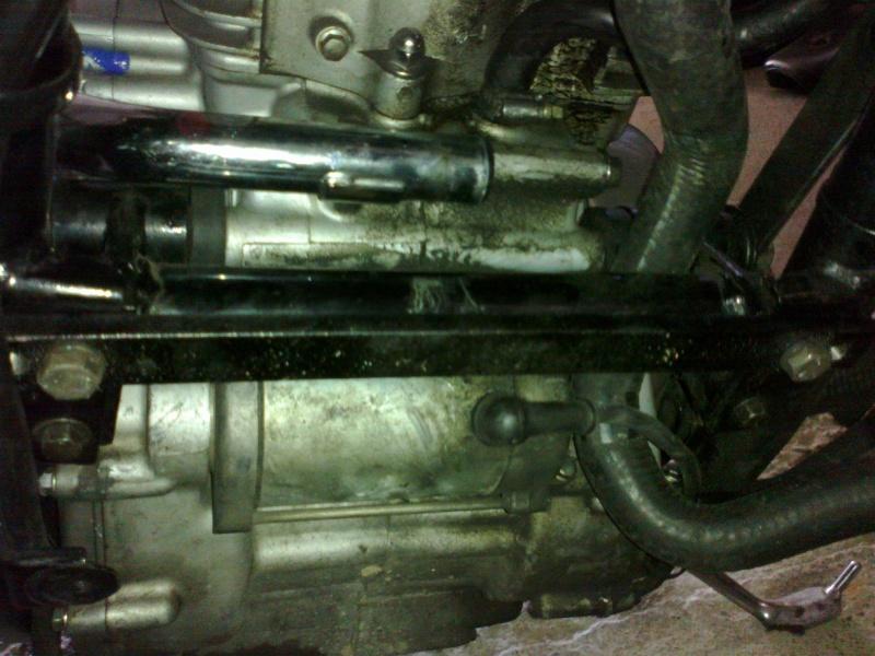 SUMO - Rempalcement du radiateur par un de VN750 13072011