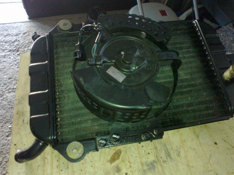 SUMO - Rempalcement du radiateur par un de VN750 13072012