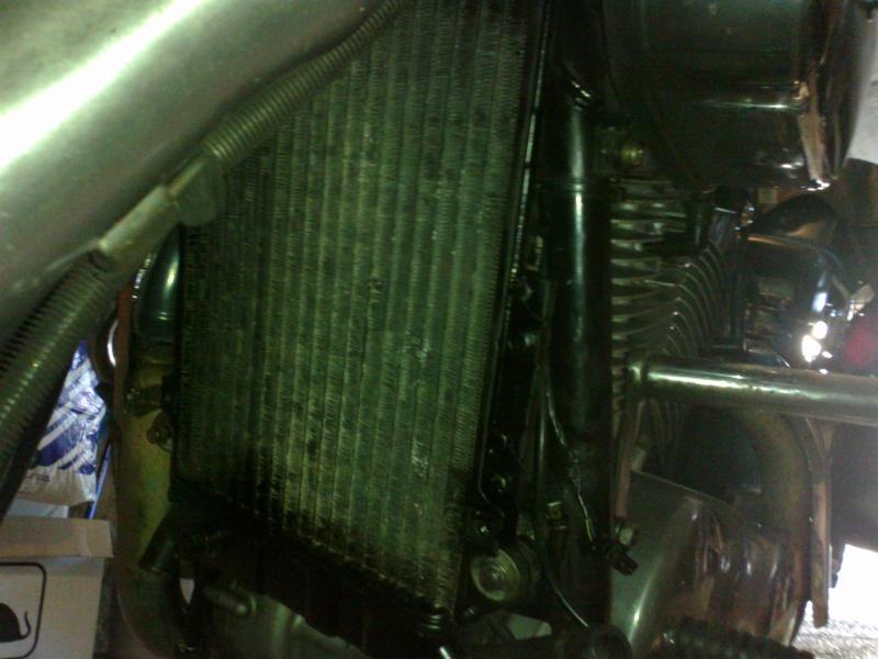 SUMO - Rempalcement du radiateur par un de VN750 13072016