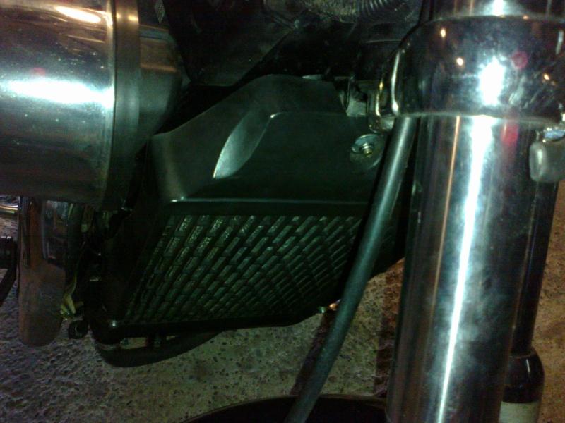 SUMO - Rempalcement du radiateur par un de VN750 17072011