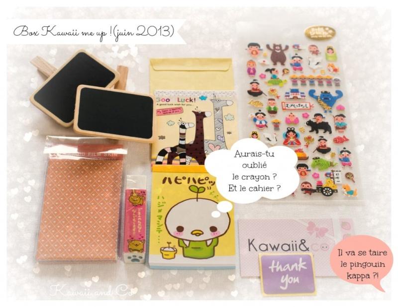 Kawaii&Co box - Kawaii me Up!  Box_ka11