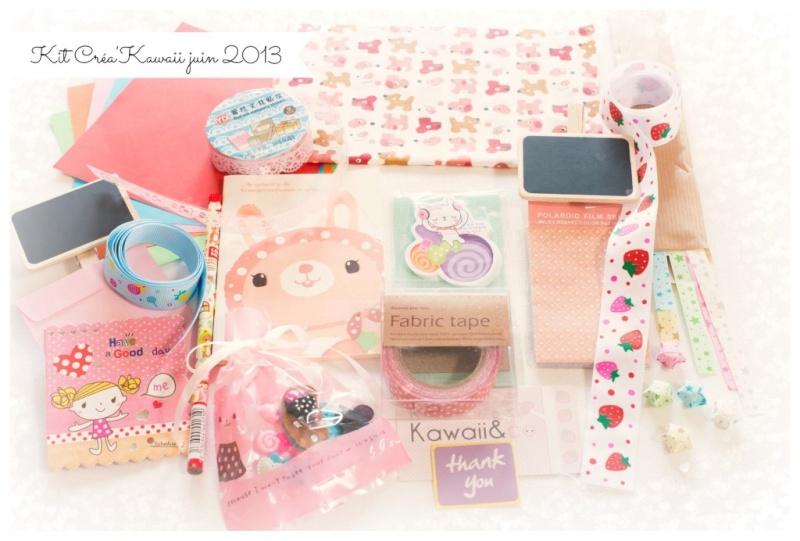 Kawaii&Co box - Créa Kawaii Kit_cr10