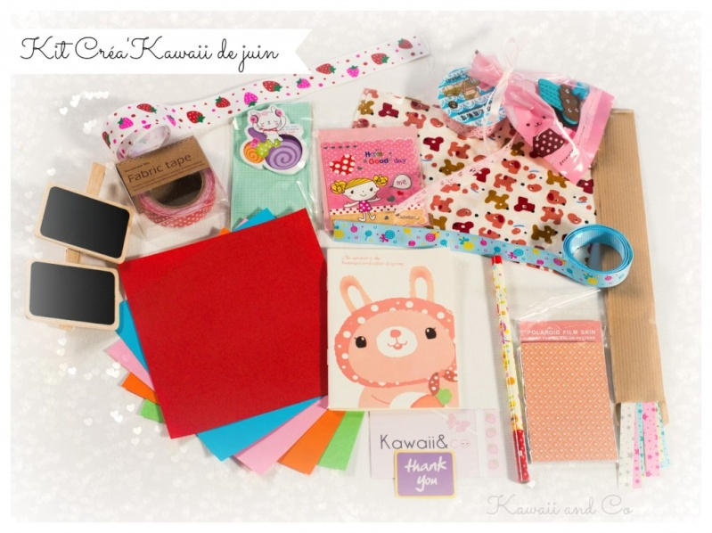 Kawaii&Co box - Créa Kawaii Kit_cr11