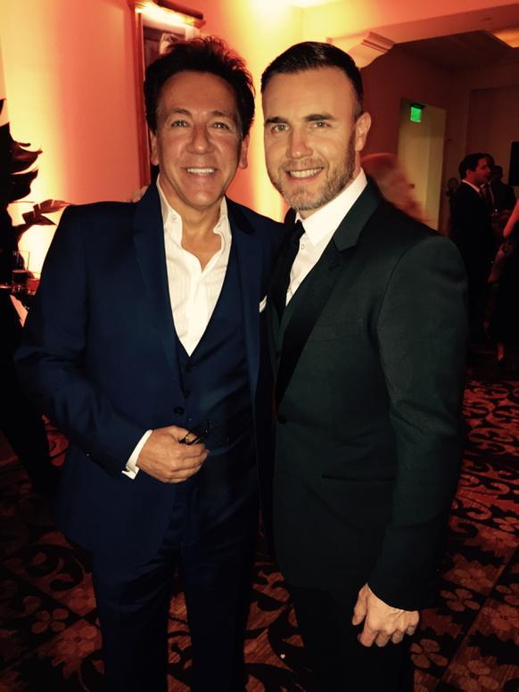 Gary à la pre-oscars night party 2015 à L.A le 21 février 310