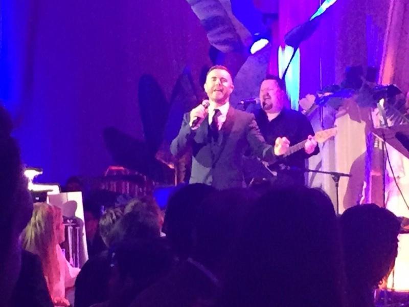 Gary à la pre-oscars night party 2015 à L.A le 21 février 510