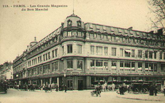 CREATION DES GRANDS MAGASINS A PARIS 33992710