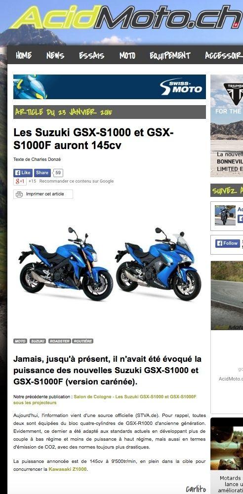 Suzuki GSX-S 1000. - Page 2 Captur12