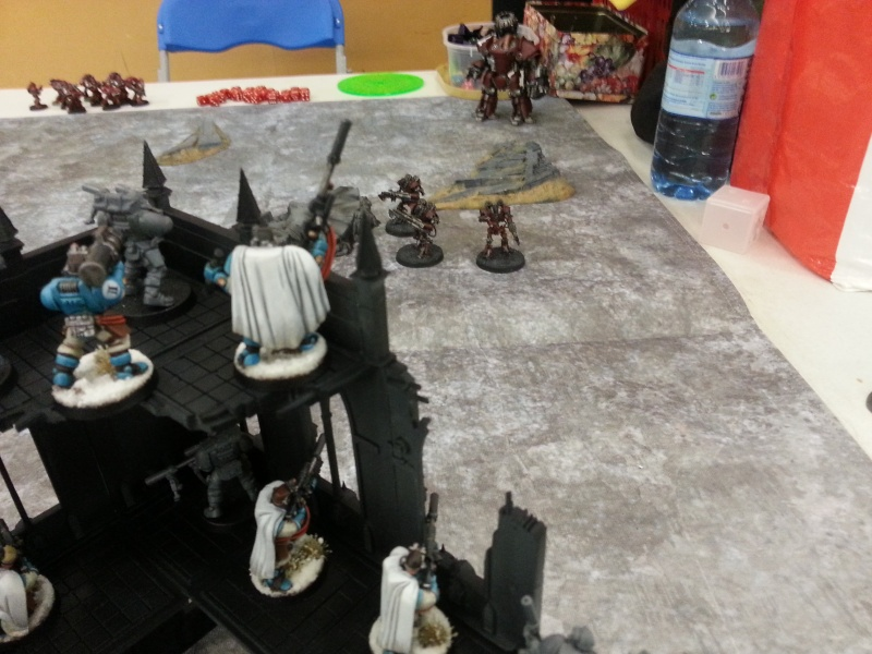 [W40k] Space Marine vs Mechanicum 20150115