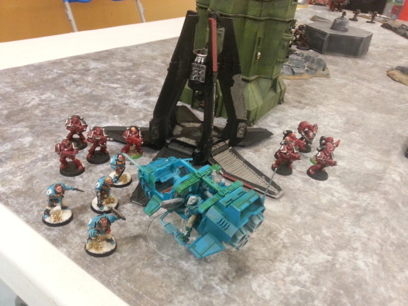 [W40k] Space Marine vs Mechanicum 20150116