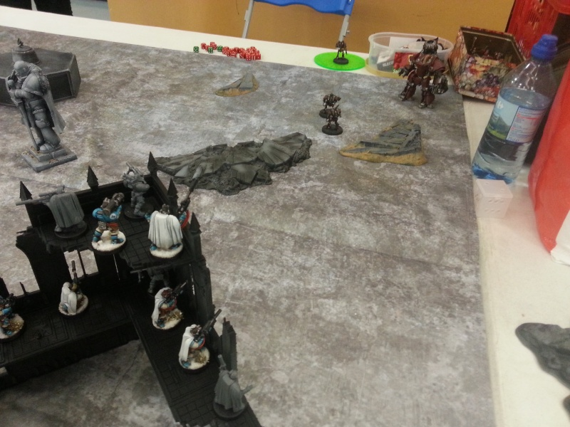 [W40k] Space Marine vs Mechanicum 20150117
