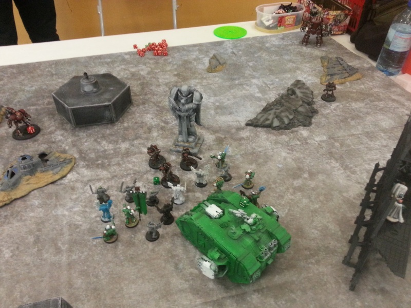 [W40k] Space Marine vs Mechanicum 20150119