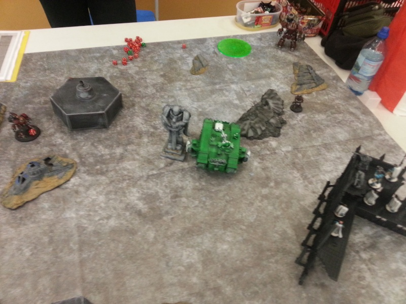 [W40k] Space Marine vs Mechanicum 20150124