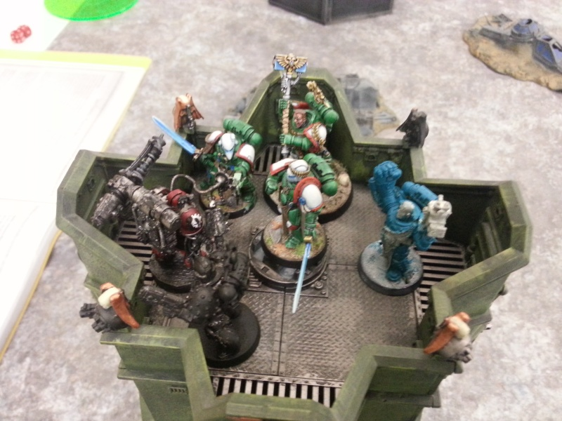 [W40k] Space Marine vs Mechanicum 20150129