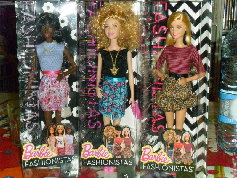 Mon premier amour poupesque : Barbie (Fashionistas, Keith Haring, Creatable...) Sam_9524