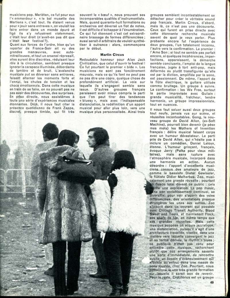 Amougies: Festival 24-28 Octobre 1969 R35-7712