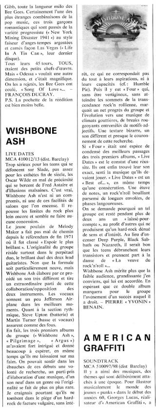 Wishbone Ash R86-7513