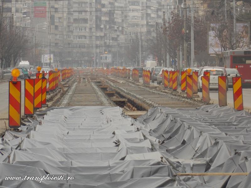 Traseul 101, etapa I: Intersecție Republicii - Intersecție Candiano Popescu ( zona BCR ) Dscn0192