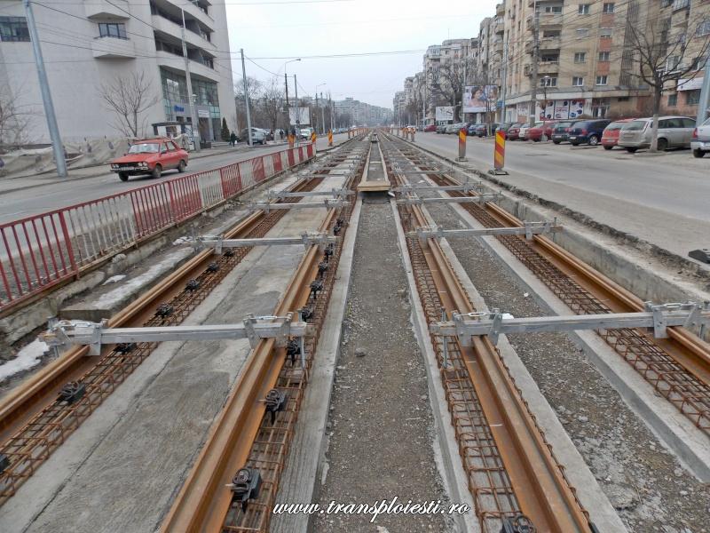 Traseul 101, etapa I: Intersecție Republicii - Intersecție Candiano Popescu ( zona BCR ) Dscn0195