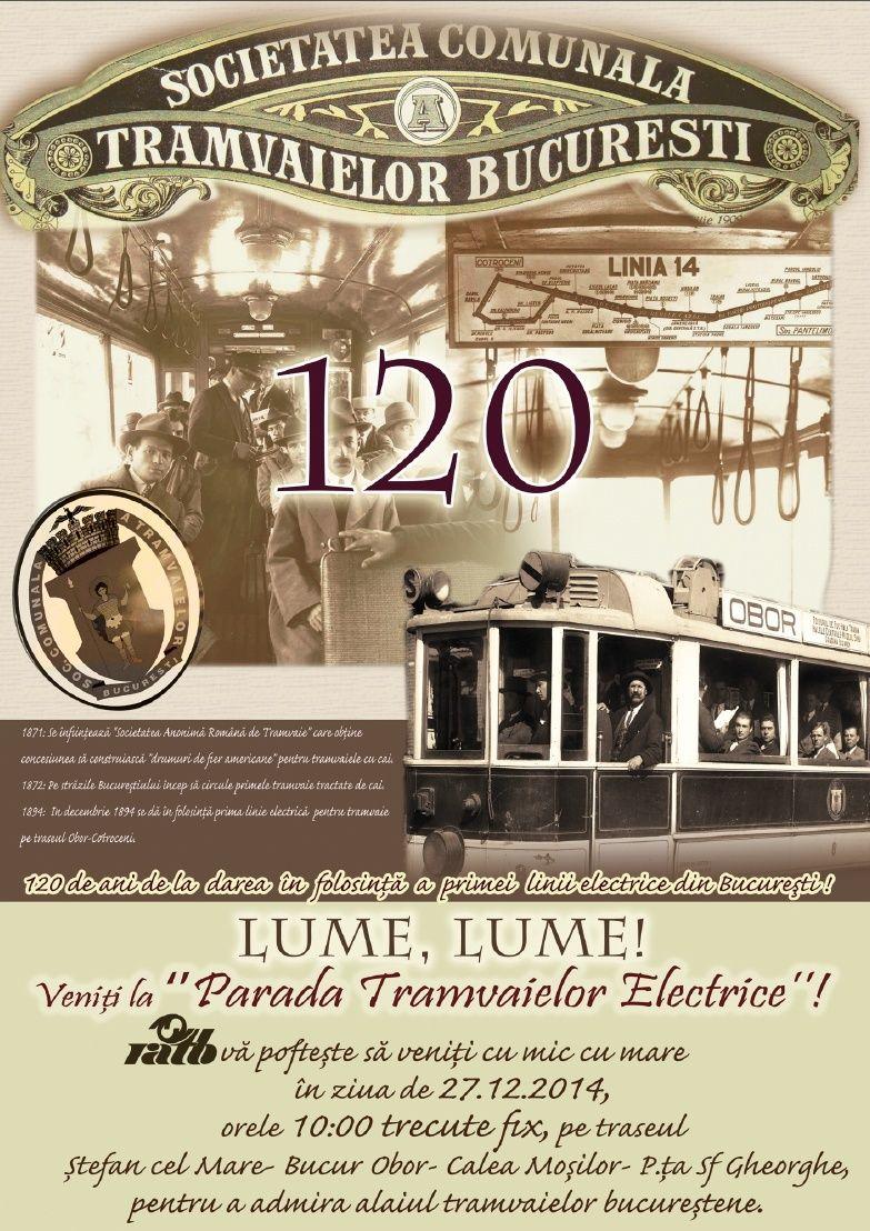 București: 120 de ani de la înființarea primei linii electrice din România File10