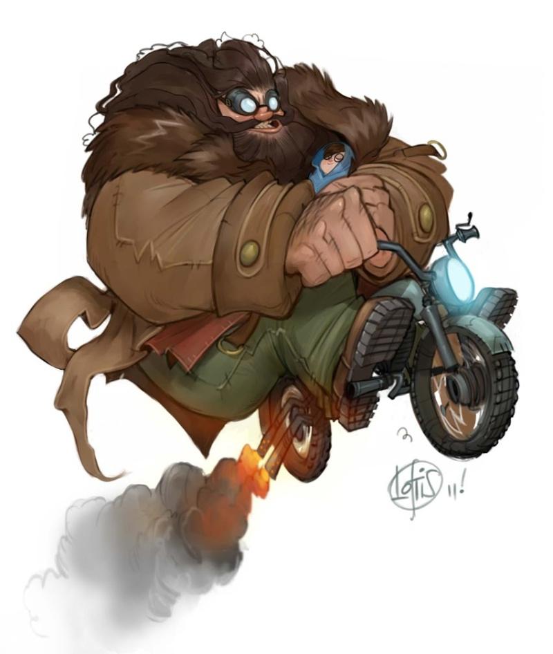 Jeu des dessins HP! ^^ Hagrid10