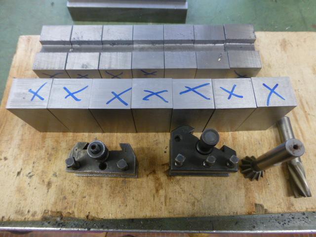 Des porte- outils pour mon Tour Schaublin 102 en pagaille... !!! P1050511