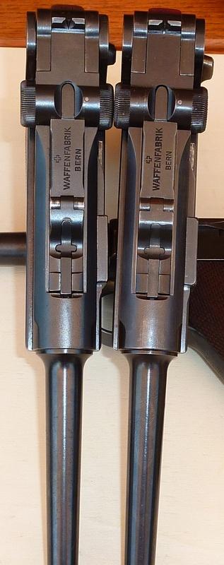 Les Luger suisses, modèles 1906 produits par la Waffen Fabrick à Berne. - Page 2 01254910