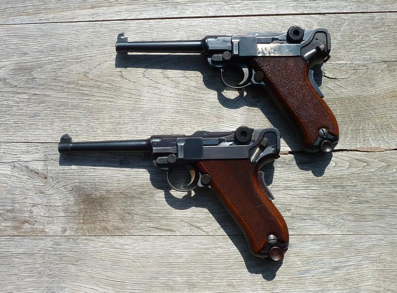 Les Luger suisses, modèles 1906 produits par la Waffen Fabrick à Berne. - Page 2 01255111