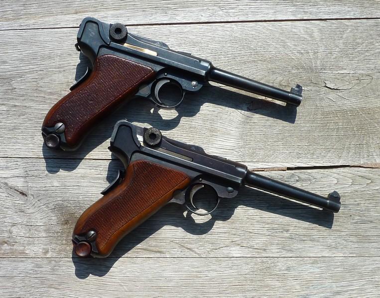 Les Luger suisses, modèles 1906 produits par la Waffen Fabrick à Berne. - Page 2 01255210
