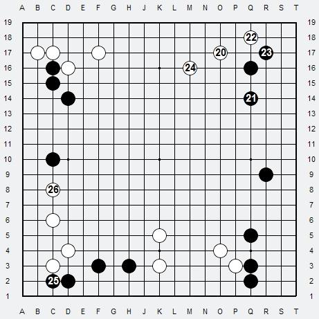 Les 3 Règles de base du Fuseki : Règle 1 3r-1-310