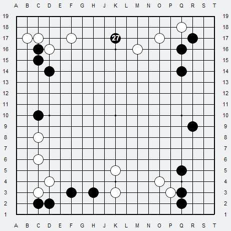 Les 3 Règles de base du Fuseki : Règle 1 3r-1-410