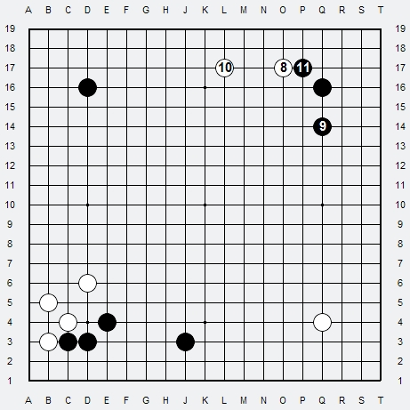 Les 3 Règles de base du Fuseki : Règle 1 3r-2-115