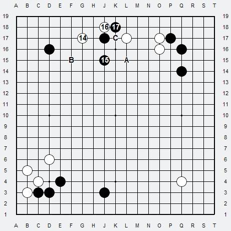 Les 3 Règles de base du Fuseki : Règle 1 3r-2-213