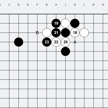 Les 3 Règles de base du Fuseki : Règle 1 3r-2-310