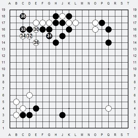 Les 3 Règles de base du Fuseki : Règle 1 3r-2-410
