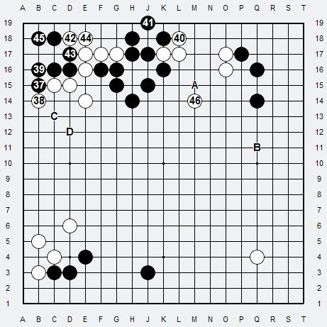 Les 3 Règles de base du Fuseki : Règle 1 3r-2-411