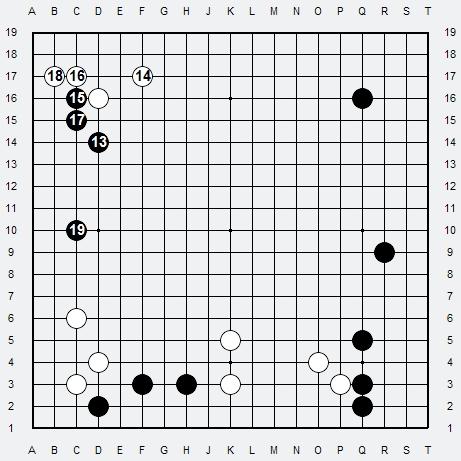 Les 3 Règles de base du Fuseki : Règle 2 3r-2b12