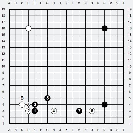 Les 3 Règles de base du Fuseki : Règle 1 3r-3-110