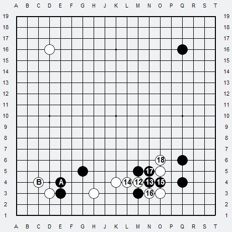 Les 3 Règles de base du Fuseki : Règle 1 3r-3-211